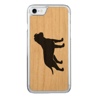 American Staffordshire Terrier Silhouette Carved iPhone 7 Case