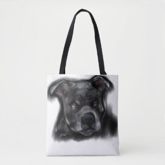 American Staffordshire Terrier Tote Bag