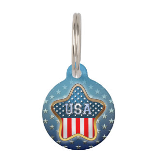 American Star Pet Tags
