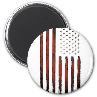 American Stars and stripes Vintage 2 Inch Round Magnet