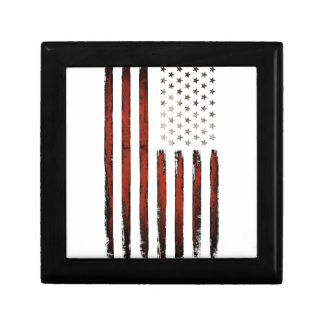 American Stars and stripes Vintage Gift Box