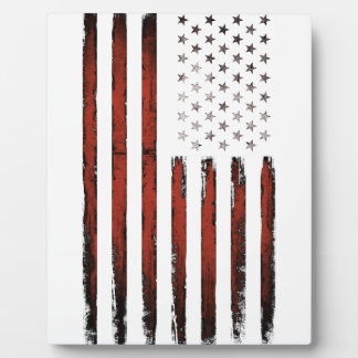 American Stars and stripes Vintage Plaque