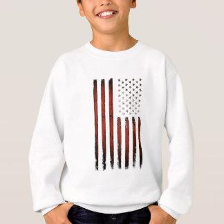 American Stars and stripes Vintage Sweatshirt