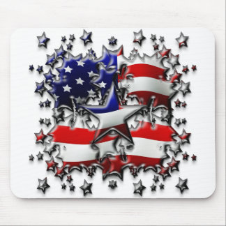 American Stars Mouse Pad
