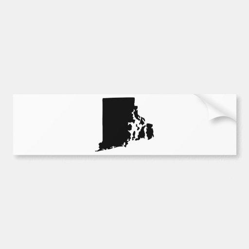 American State of Rhode Island Bumper Sticker