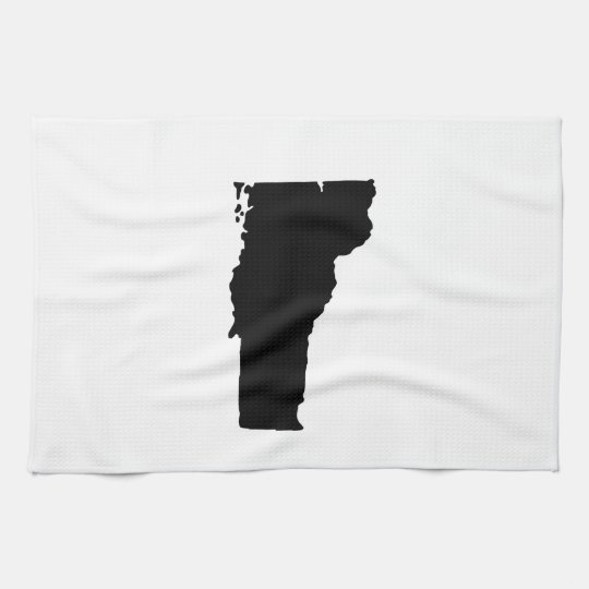 American State of Vermont Hand Towels
