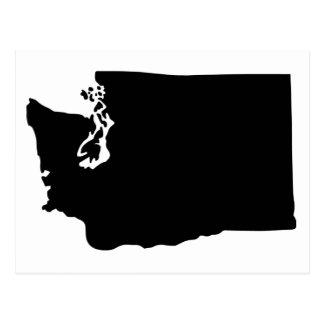 American State of Washington Postcard