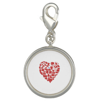 American States Heart Mosaic Maryland Red Charm