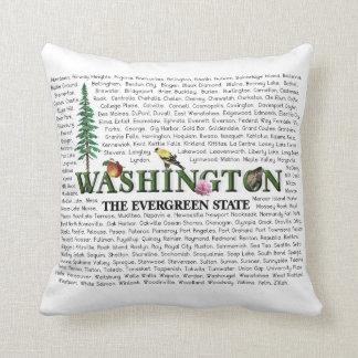 American States - Washington Throw Pillow