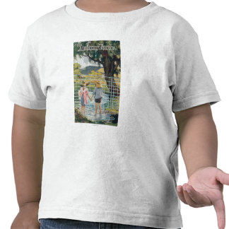 American Steel & Wire Co Fence Pond and Kids Tee Shirts