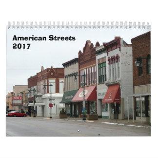 American Streets Calendar - 2017