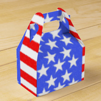 American style-ART fabric Favor Box