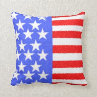American style-ART fabric Throw Pillow