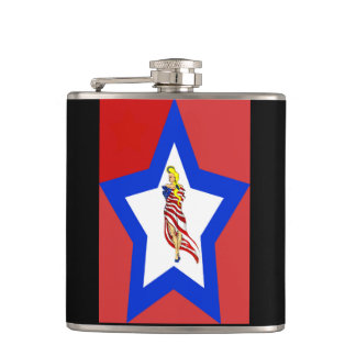 American style flask