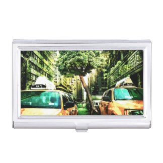 American Style with Taxi Case For Business Cards
