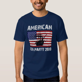 American Tea Party 2010 T-shirts