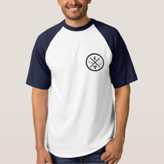 American tee-shirt navy blue t-shirt