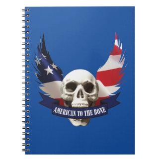 American to the Bone Skull Notebooks