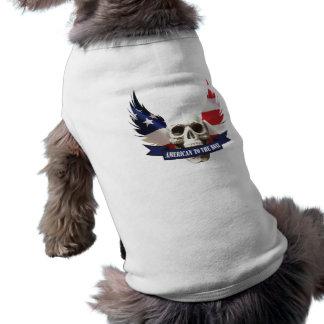 American to the Bone Skull Shirt