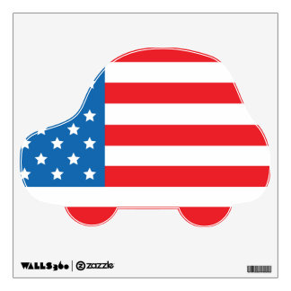 American Transportation Wall Decal