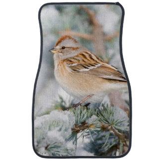 American Tree Sparrow in winter Auto Mat