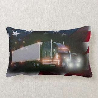 American Trucker Pride Lumbar Pillow