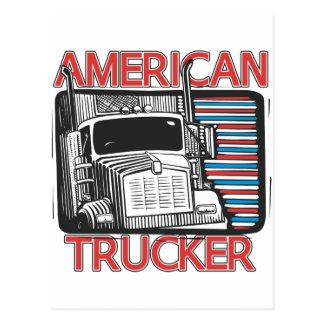 American Trucking Postcard
