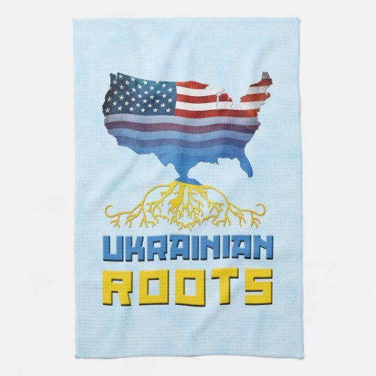 American Ukrainian Roots Kitchen Towels