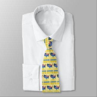 American Ukrainian Roots Necktie
