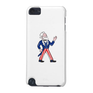 American Uncle Sam Waving Hand Cartoon iPod Touch 5G Covers
