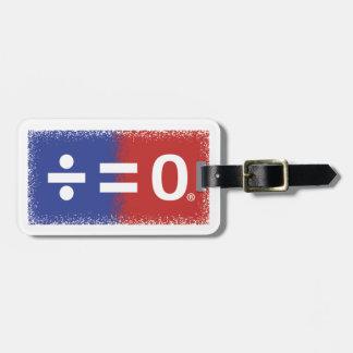 American Unity Luggage Tag w/ Leather Strap