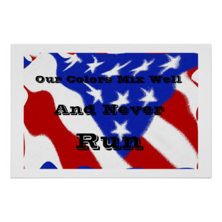 American Unity Poster