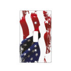 AMERICAN USA FLAG LIGHT SWITCH COVER
