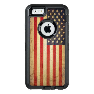 American USA Flag patriotic OtterBox Defender iPhone Case