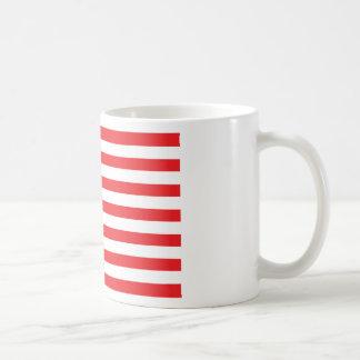 american usa flag red blue white coffee mugs
