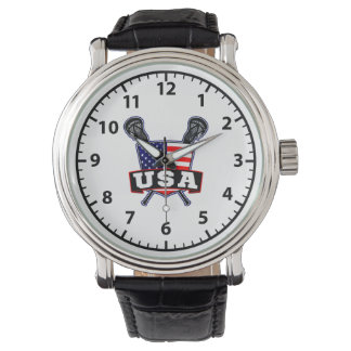 American USA Lacrosse Wrist Watches