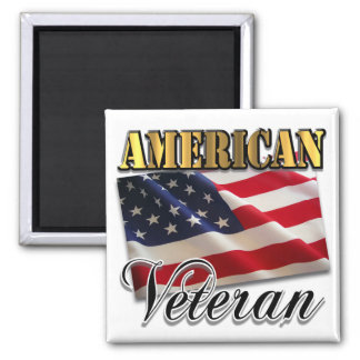 American Veteran Apparel and Gifts Magnet
