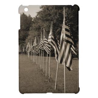 American Veteran Flags iPad Mini Case