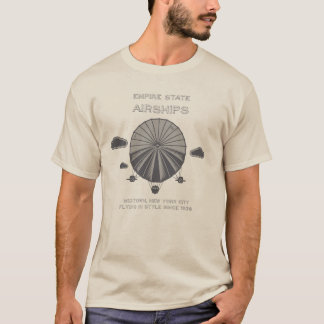 American Vintage T-Shirt - Empire State Airship