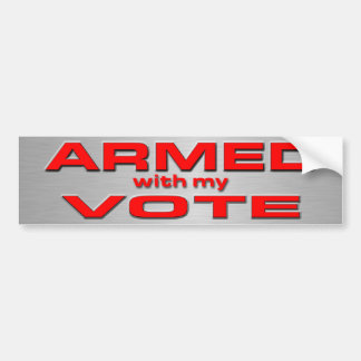 American Voter Bumper Sticker