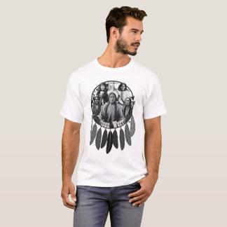 American Warriors Shield Design T Shirt