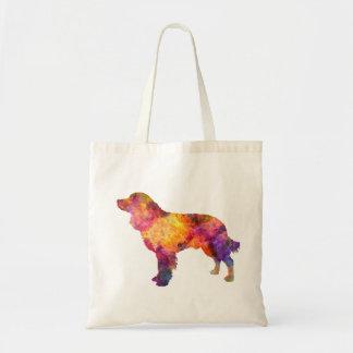 American Water Spaniel in watercolor Tote Bag
