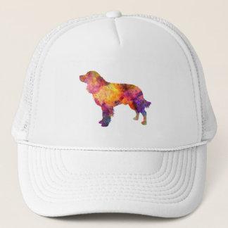 American Water Spaniel in watercolor Trucker Hat