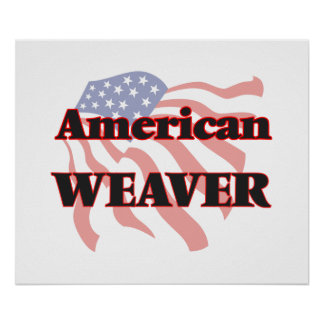 American Weaver Poster