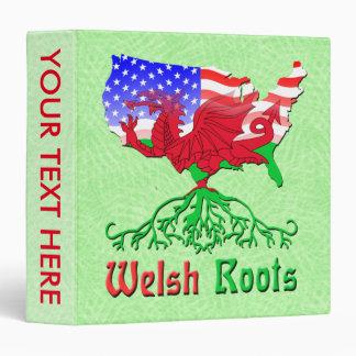 American Welsh Roots Binder