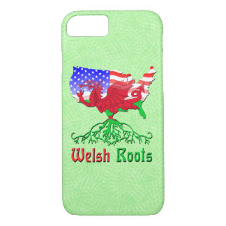 American Welsh Roots Cell Phone Case