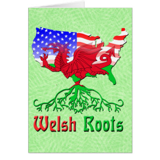 American Welsh Roots Greeting Cards