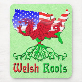 American Welsh Roots Mousemat Mouse Pad
