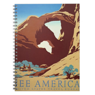 American West Travel 1939 Notebooks