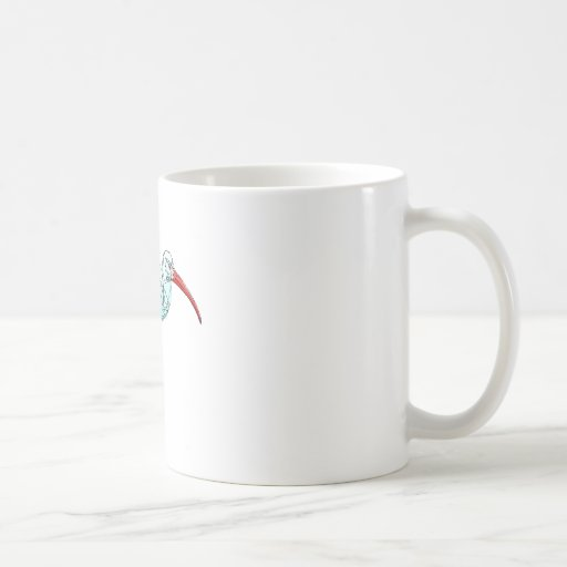 American White Ibis Mugs